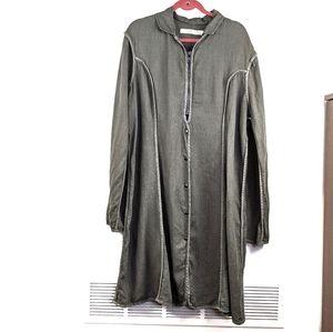Cynthia Ashby Lagenlook Long Line Jacket